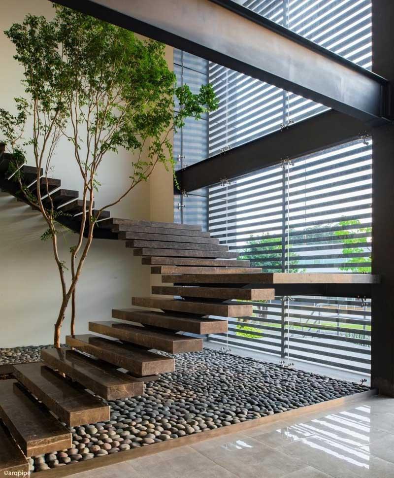 1001 giai phap thiet ke nha pho phan 1 gieng troi trong nha 16 - 1001 giải pháp thiết kế nhà phố đẹp ( phần 1): giếng trời trong nhà