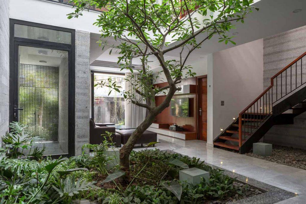 1001 giai phap thiet ke nha pho phan 1 gieng troi trong nha 32 1024x683 - 1001 giải pháp thiết kế nhà phố đẹp ( phần 1): giếng trời trong nhà