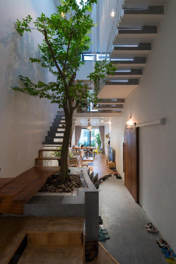 1001 giai phap thiet ke nha pho phan 1 gieng troi trong nha 34 683x1024 - 1001 giải pháp thiết kế nhà phố đẹp ( phần 1): giếng trời trong nhà