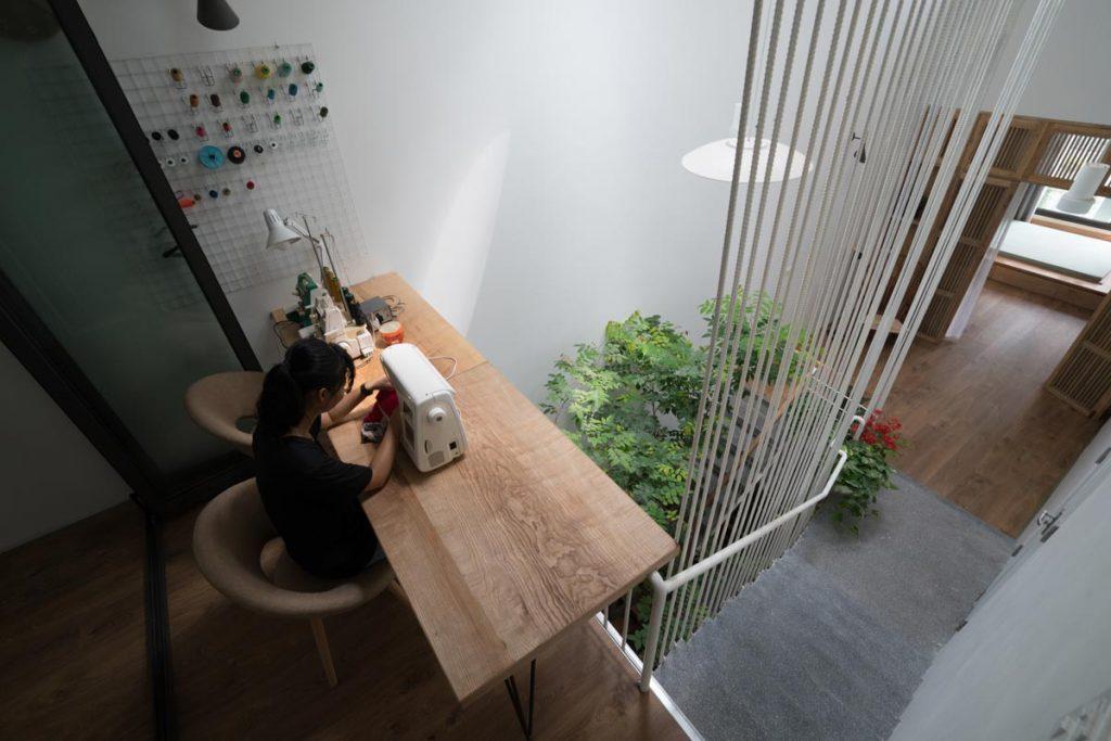 1001 giai phap thiet ke nha pho phan 1 gieng troi trong nha 37 1024x683 - 1001 giải pháp thiết kế nhà phố đẹp ( phần 1): giếng trời trong nhà