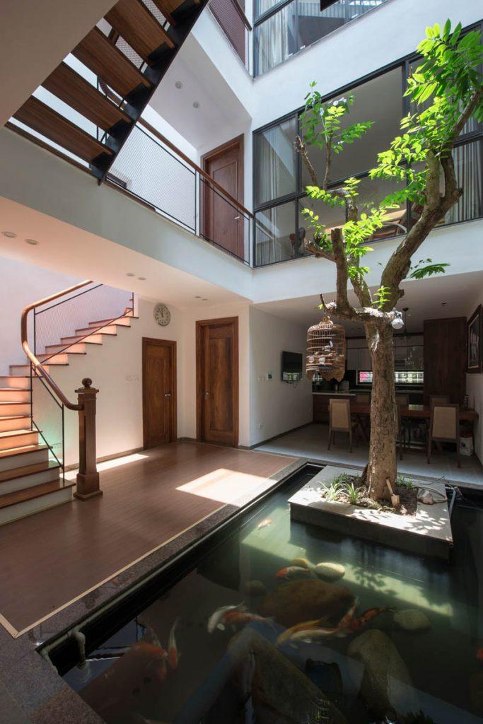 1001 giai phap thiet ke nha pho phan 1 gieng troi trong nha 39 683x1024 - 1001 giải pháp thiết kế nhà phố đẹp ( phần 1): giếng trời trong nhà