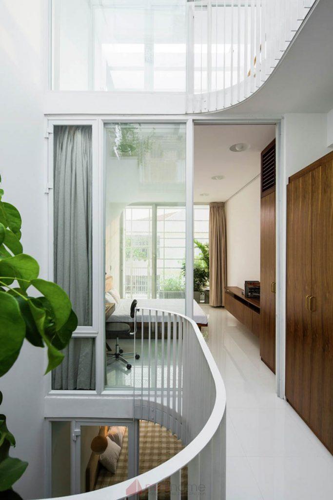 House 304 Ngôi nhà phố đẹp 40m2 với giếng trời đầy nắng 10 683x1024 - House 304: Ngôi nhà phố đẹp 40m2 với giếng trời đầy nắng