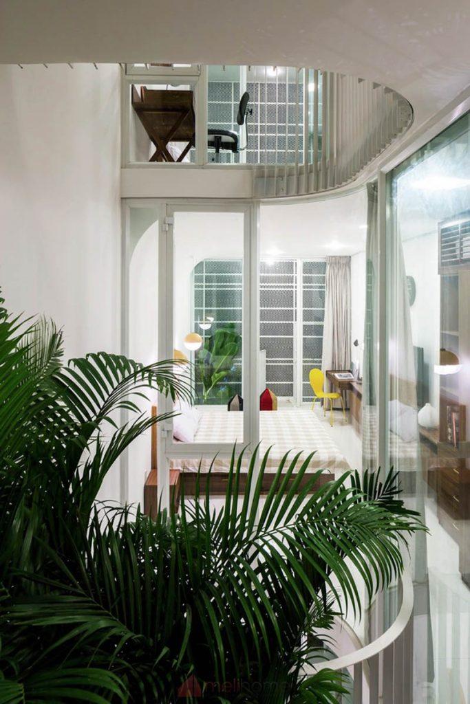 House 304 Ngôi nhà phố đẹp 40m2 với giếng trời đầy nắng 12 683x1024 - House 304: Ngôi nhà phố đẹp 40m2 với giếng trời đầy nắng