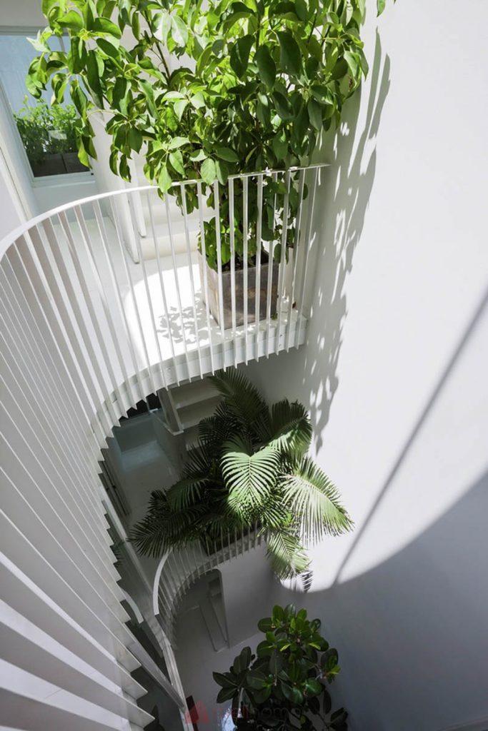 House 304 Ngôi nhà phố đẹp 40m2 với giếng trời đầy nắng 14 683x1024 - House 304: Ngôi nhà phố đẹp 40m2 với giếng trời đầy nắng