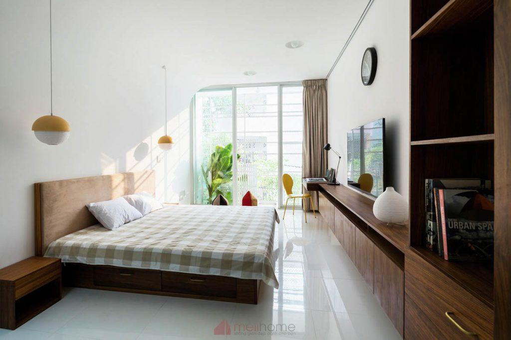 House 304 Ngôi nhà phố đẹp 40m2 với giếng trời đầy nắng 15 1024x683 - House 304: Ngôi nhà phố đẹp 40m2 với giếng trời đầy nắng