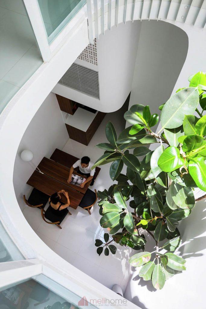House 304 Ngôi nhà phố đẹp 40m2 với giếng trời đầy nắng 17 683x1024 - House 304: Ngôi nhà phố đẹp 40m2 với giếng trời đầy nắng