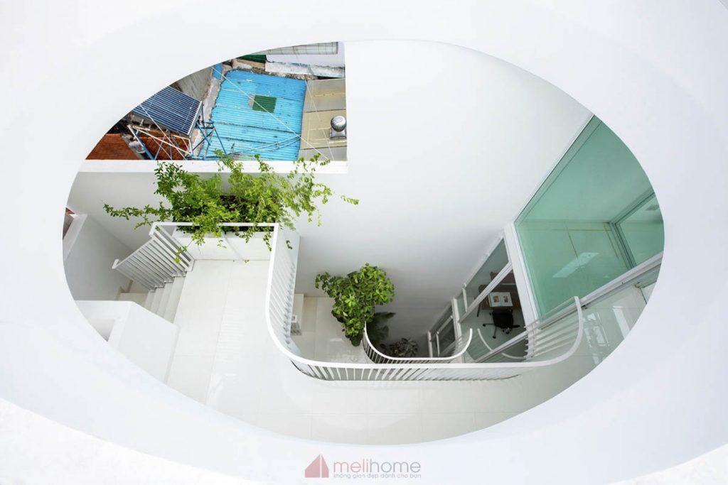 House 304 Ngôi nhà phố đẹp 40m2 với giếng trời đầy nắng 2 1024x683 - House 304: Ngôi nhà phố đẹp 40m2 với giếng trời đầy nắng