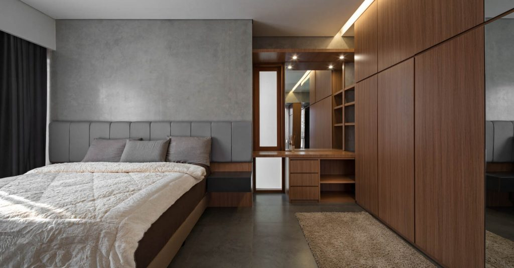 Rumah Beton House ngôi nhà phố đẹp với sự riêng tư tối đa 19 1024x534 - Rumah Beton House: mẫu thiết kế nhà phố đẹp với sự riêng tư tối đa