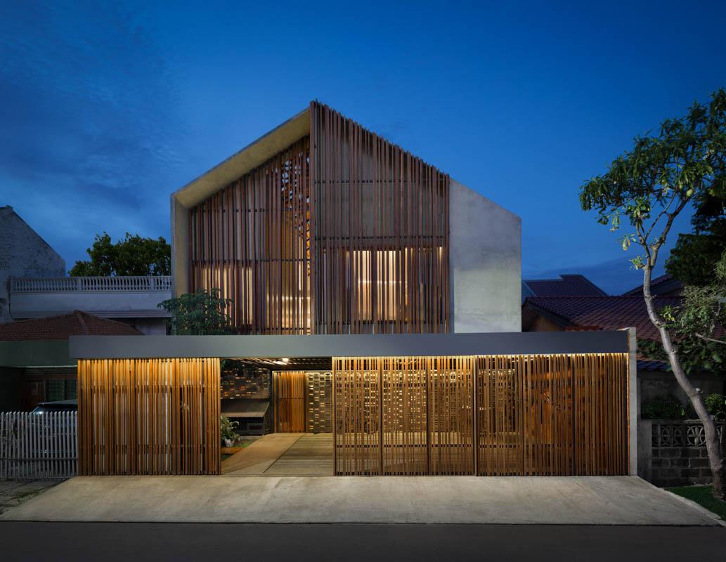 Rumah Beton House ngôi nhà phố đẹp với sự riêng tư tối đa 27 - Rumah Beton House: mẫu thiết kế nhà phố đẹp với sự riêng tư tối đa