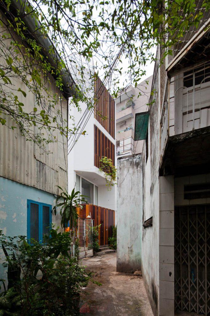 Thiết Kế Nhà Nhỏ Đẹp 30m2 tại Sài Gòn 2 683x1024 - Micro Town House 4x8m: Thiết kế nhà nhỏ đẹp 30m2 đầy màu sắc tại Sài Gòn