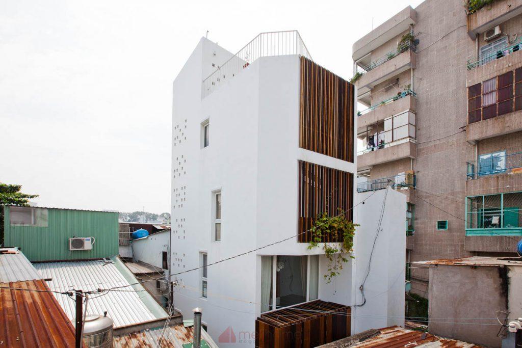 Thiết Kế Nhà Nhỏ Đẹp 30m2 tại Sài Gòn 4 1024x683 - Micro Town House 4x8m: Thiết kế nhà nhỏ đẹp 30m2 đầy màu sắc tại Sài Gòn